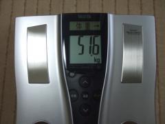 4日目朝体重