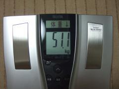 回復1日目夜体重