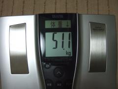 回復2日夜体重