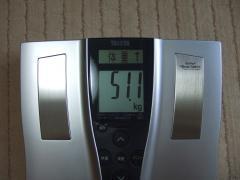 4日朝体重