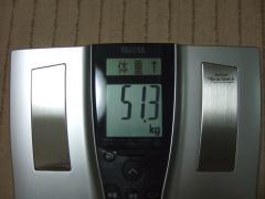 4日夜体重