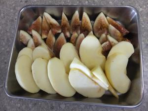 りんごといちじく材料