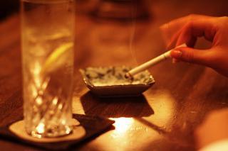 断食中の喫煙