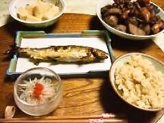 準備期間の食事
